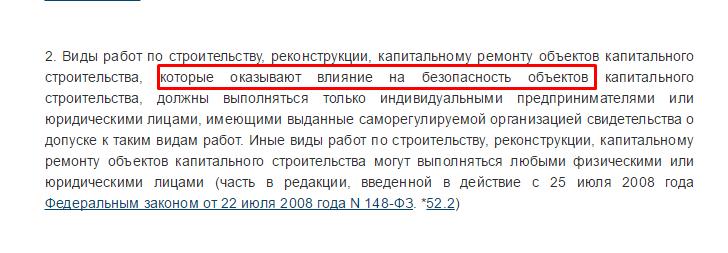 ч. 2 ст. 52 ГрК РФ