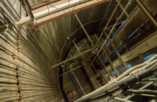 Останкинская башня изнутри