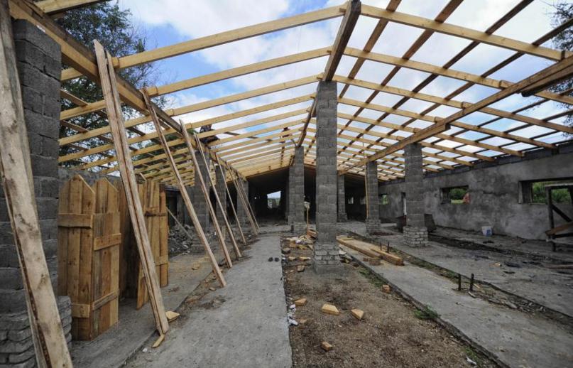 строительство дома на землях лпх