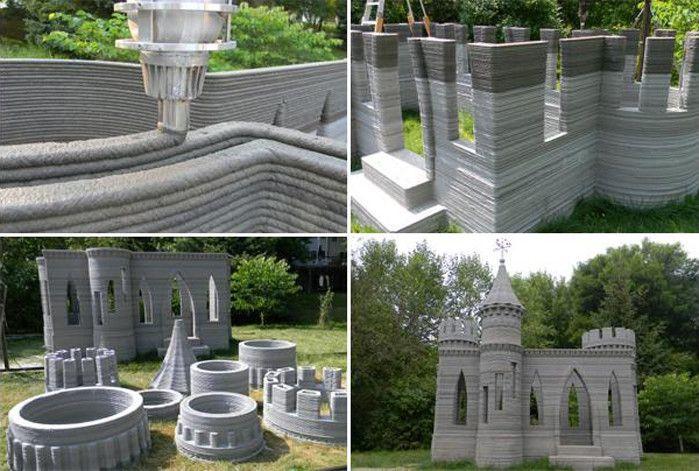 Примеры работ 3D-принтера