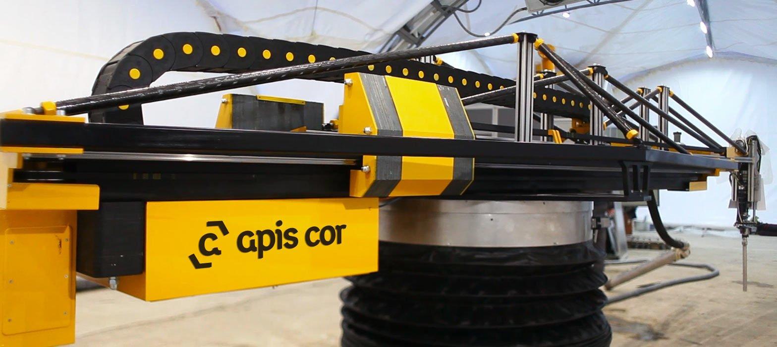 Так выглядит 3D-принтер «Apis Cor»