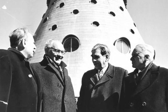 Архитекторы Останкинской телебашни